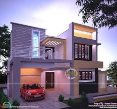 simple beautiful house designs home decor waplag plans personable sq ft modern in night view kerala