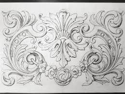 Ornamental Design Drawing Ornamental Design Ornament Drawing Wood Carving Designs