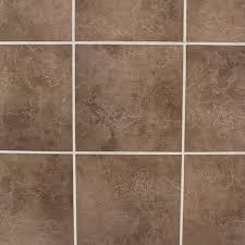 Bq Kitchen Floor Tiles Cirque Chocolate Ceramic Floor Tile Pack Of 9 L330mm W330mm