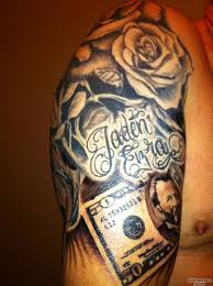 Money Tattoo Photo Num 20188
