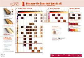 Matrix Color Chart Online Matrix Colorsync Shades Palette Oct 2013 In 2019 Matrix