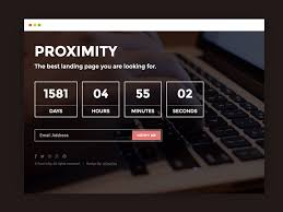 Free Html5 Website Templates Gorgeous Proximity Bootstrap Under Construction Web Template UiCookies