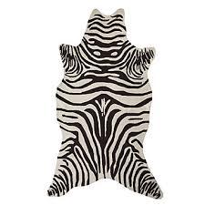 Zebra Indoor/Outdoor Rug - Chocolate