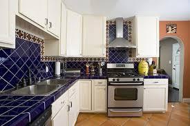 Blue Tiles For Kitchen Blue Kitchen Color Ideas Decormagz Combination Of Tiles In 2017
