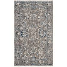 safavieh artisan dark grey blue 3 ft x 5 ft area rug