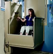 Bruno Vertical Platform Lift Vertical Platform Lifts Pinterest - Exterior wheelchair lifts