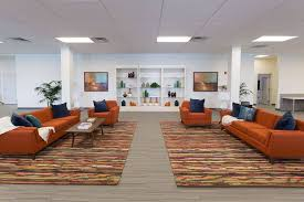 office seating area. Seating Area - Surya White, GA Office A