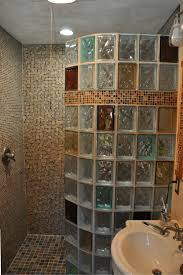 Bathroom Shower Design 5 A 1 2 Amazing Glass Block Shower Designs With Personality Mosaics