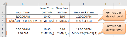Excel Time Function My Online Training Hub