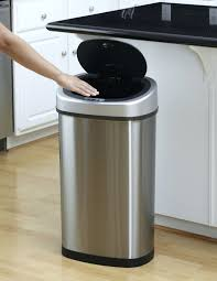 kitchen garbage cans with locking lids kitchen trash cans home depot oxo kitchen trash cans 13 gallon nine stars motion sensor touchless 132 gallon and 21