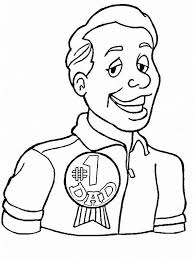 Small Picture Coloring Pages For Dad on Fathers Day family holidaynetguide