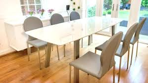 dining tables extending glass dining table and chairs extendable tables a perfect solution if you
