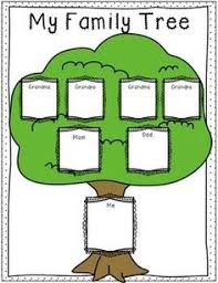 Family Tree Templates Kids Family Tree Template For Kids Geneology Tree Templates Family