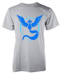 Pokemon Go Team Mystic Pokey Blue Child T Shirt 3 15 Years