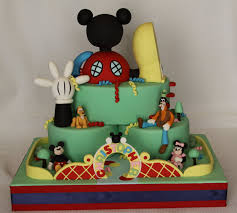 Mickey Mouse Clubhouse Bedroom Accessories Mickey Mouse Cake Ideas Inspirations Parks Birthday Cakes And