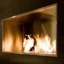modern fireplace inserts. Ecosmart Fire Firebox 1800SS Modern Ventless Fireplace Insert Inserts