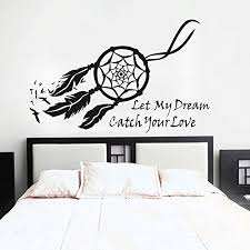 Purchase Dream Catchers GECKOO Dream Catcher Wall Decal Native American Feathers Bedroom 69