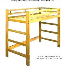 twin loft bed plans how to make a twin loft bed frame twin loft bed wood