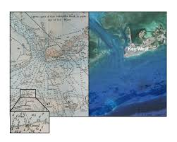Nautical Charts Cape Coral Florida 18th Century Nautical Charts Document Historic Loss Of Coral