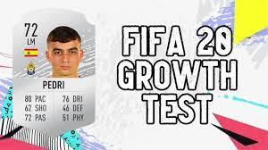 Pedri Dynamic Potential Test!! FIFA 20 - YouTube
