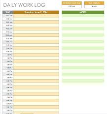 Daily Routine Schedule Template Svptraining Info