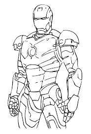 Disegni Da Colorare E Stampare Iron Man