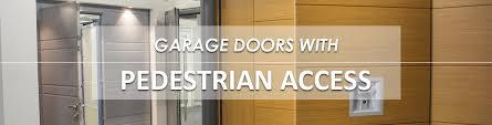 garage doors with pedestrian doors wicket door hormann cedar rundum vertico silvelox uk