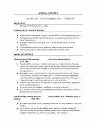 Resume For Dental Assistant Job Resume format for Medical Job Fresh Dental assisting Resume 36