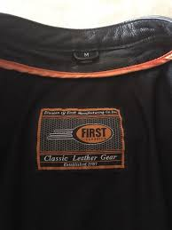 first classics motorcycle leather jacket for in lathrop ca offerup