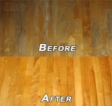steps in polishing the hardwood floor