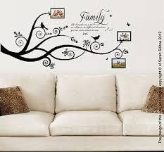 family tree wall art vinyl