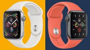 Apple Watch Model Comparison Chart Apple Watch 5 Vs Apple Watch 4 Which Apple Smartwatch Is