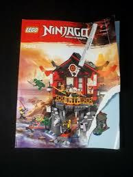 Spielzeug ~~LEGO NINJAGO 70594 INSTRUCTION MANUAL ONLY triadecont.com.br