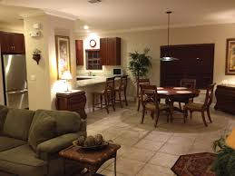 Living Dining Kitchen Room Design Living Room And Kitchen Zampco