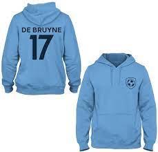 Kevin De Bruyne 17 Manchester City Style Children's Hoodie - Sky, size: xl:  Amazon.de: Bekleidung