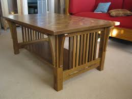 Craftsman Style Coffee Table Oxford Woodworks Llc