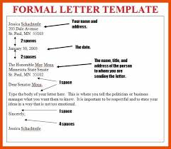 Formal Letter Latest Format 9 10 Formal Letter Format Sopexample