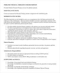 Physical Therapy Job Description. Physical Therapist Job Outlook ...