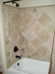 shower surrounds that look like tile | Your standard hall shower can look  like this in