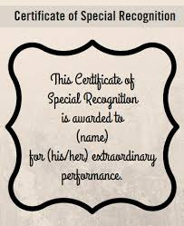 Recognition Awards Certificates Template Appreciation Award Wording 32 Best Award Certificate Templates