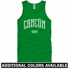 Quintana Roo Size Chart Details About Cancun Mexico Tank Top Playa Beach Quintana Roo Resort Mx Men Women S 2x