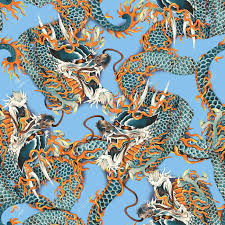 Dragon Pattern Gorgeous Dragon Pattern Stock Photo Picture And Royalty Free Image Image