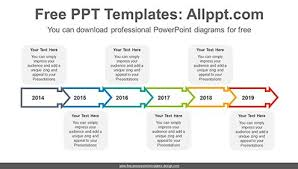 Timeline Template Free Timeline Template Beautiful Template Free Powerpoint Diagrams