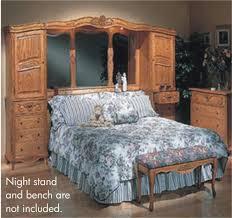 oakwood interiors solid oak king bedroom set free delivery 48 states