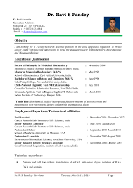 Biology Research Assistant Resume Free Resume Example And