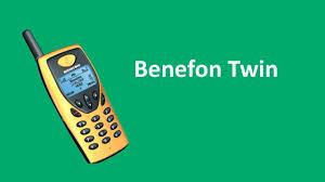 MobileBoom - Обзор Benefon Twin (2000 ...