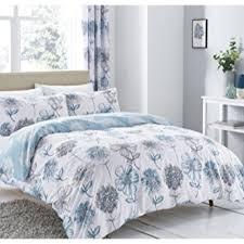 banbury fl blue single duvet set