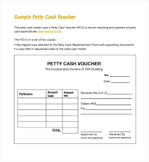 petty cash reimbursement template petty cash voucher template excel claim form post sample