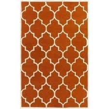 transit piper burnt orange area rugs 5x8 n burnt orange area rugs