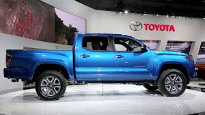 2016 Toyota Tacoma Preview: 2015 Detroit Auto Show - YouTube
